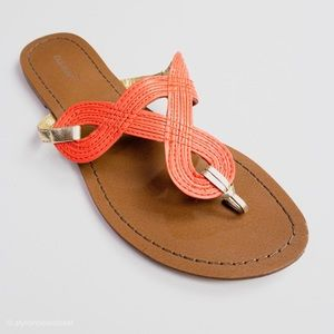 Old Navy Thong Sandals Pink